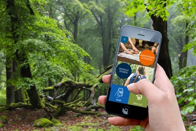 Mit App in den Nationalpark